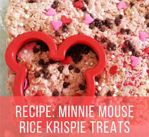 Best Rice Krispie Treat Recipe: Minnie Mouse