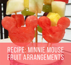 Adorable Minnie Mouse Kebab Fruit Ideas