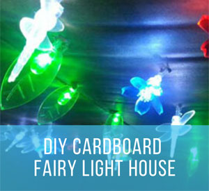 Unforgettable Cardboard DIY Projects: Light-Up Playhouse