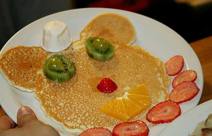 Pancake Breakfast Teddy Bear Pancake