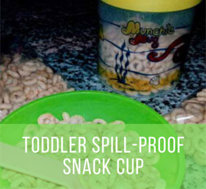 Best Spill-Proof Snack Cup for Toddlers