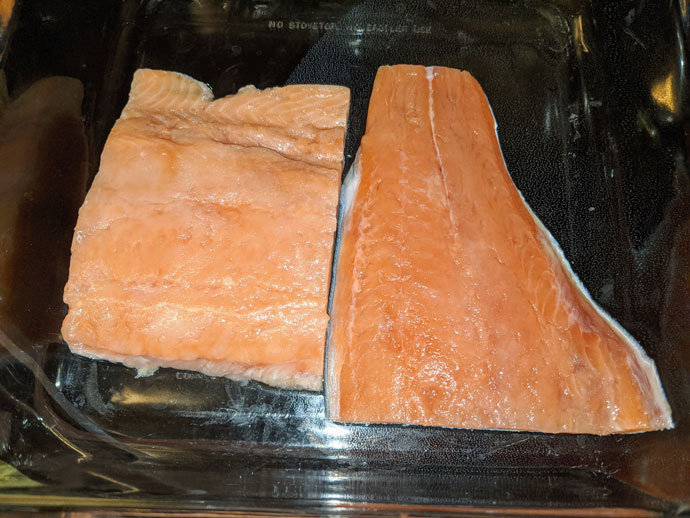 Baking Frozen Salmon