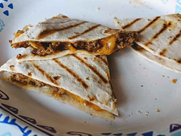 Quick Cheap Lunch Ideas - Quesadillas