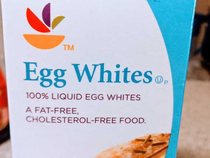Extra egg whites