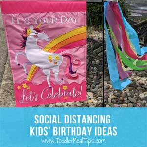 Fun Social Distancing Kids Birthday Celebration Ideas