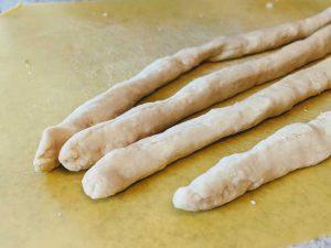 Soft Pretzel Dough Coils