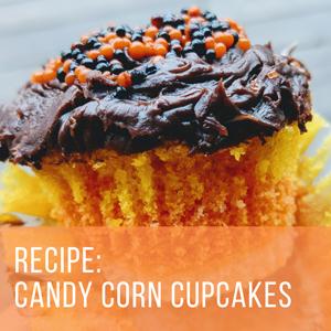 Recipe: Candy Corn Cupcakes