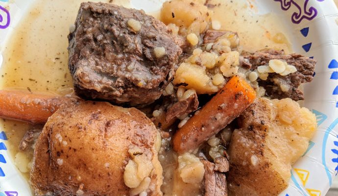 Savory Homemade Pot Roast with Potatoes and Carrots from the Instant Pot