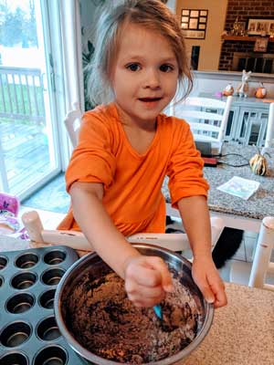 Little Baking Buddy with Cupcakes