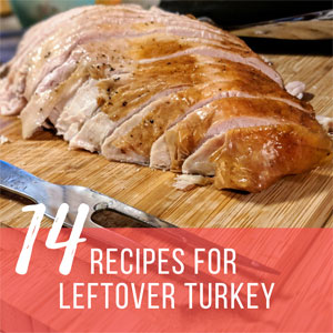 14 Recipes for Leftover Turkey from Thanksgiving