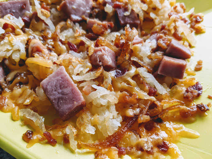 Meat Lovers Hash Browns Potatoes